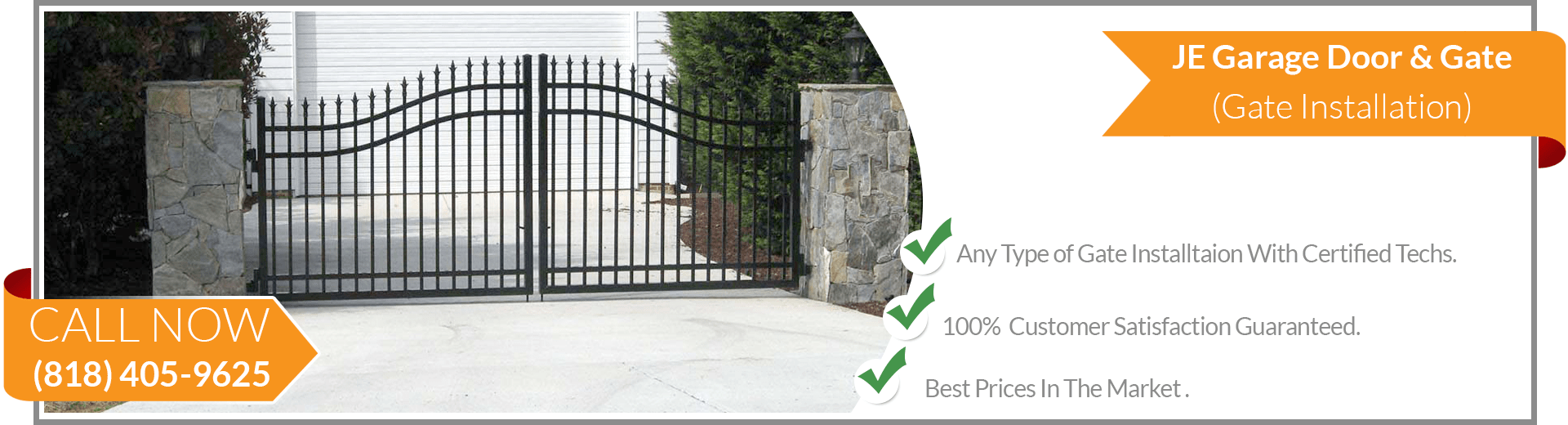 Gate Installation West Hills