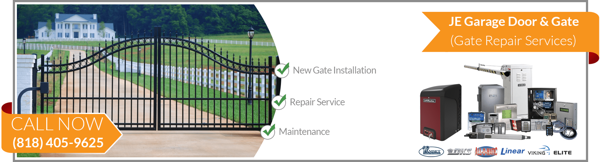 JE Gate Repair West Hills